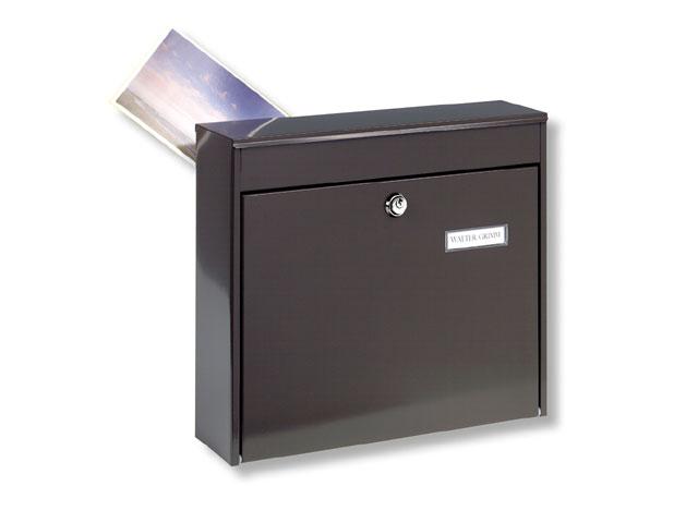 briefkasten stahlblech schl sseldienst sch le. Black Bedroom Furniture Sets. Home Design Ideas