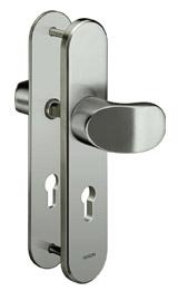 Sicherheitsschutzbeschlag ohne Zylinderabdeckung